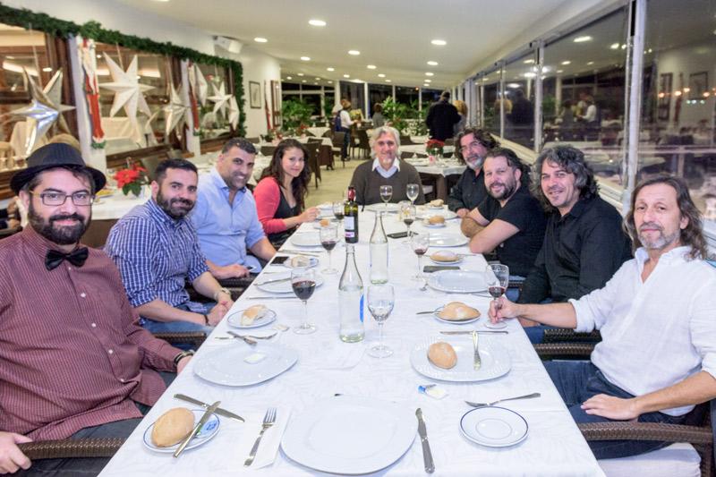 Cena de Navidad Asociación de Profesionales de la fotografía de Canarias